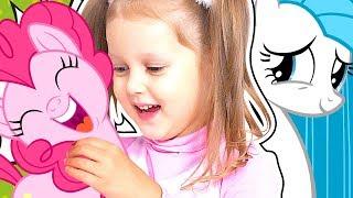 ПОНИ и Амелька Подружились Новая Пони Невеста Подружка обиделась Ищем Подружку Пони Видео для детей
