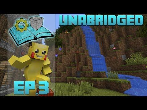 Minecraft Unabridged : Primus :: Ep.3 -  Immersive Engineering Water Wheel Power