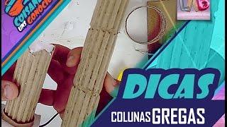 DIY: Colunas Gregas - Cenários e Dioramas - CUG Dicas#06