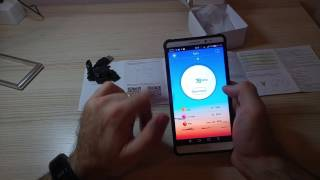 la mia recensione del braccialetto smartwatch fitness tracker con cardiofrequenzimetro di padgene
