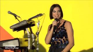 "Dua Lipa Performs ""Blow Your Mind(MWAH)"" & ""One Kiss"" LIVE At iHeartRadio Music Festival"