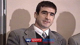 No one can forget the sound of drooping jaws being manually eased back up from the floor, and the puzzled looks, after eric cantona unleashed. When The Seagulls Follow The Trawler Eric Cantona S Bizarre Press Conference Youtube