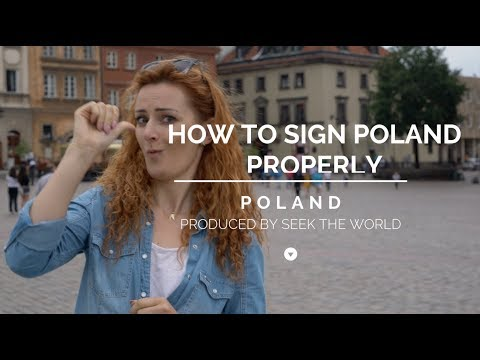 """Mind-blowing Fact: Signing """"Poland"""" Country Properly"""