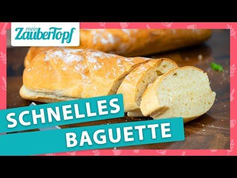 Schnellstes Baguette der Welt im Thermomix®: So wird es MEGA fluffig! 😍
