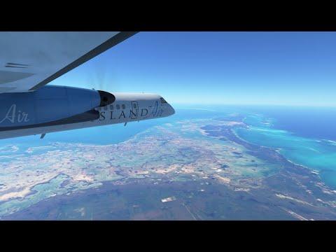 Infinite Flight Global Timelapse- [MYEM]—[MYGF] Grand Bahamas International Airport!