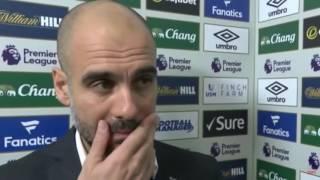Man City vs Everton - Pep Guardiola Postmatch interview 2017 (0-4 HD)