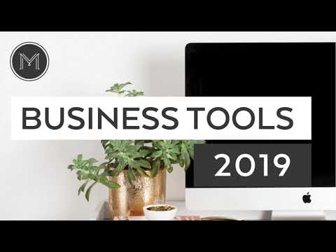The 20 Tools I Use to Run My Business 2019 (TPL 015)