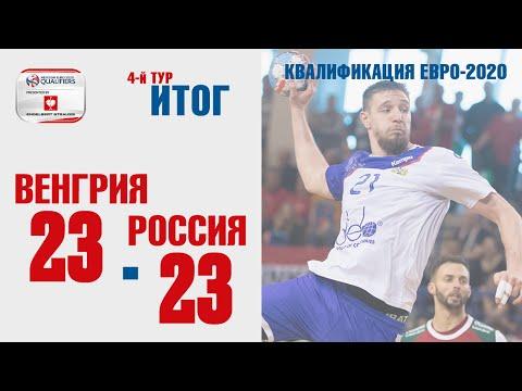 Венгрия – Россия | Лучшие моменты матча
