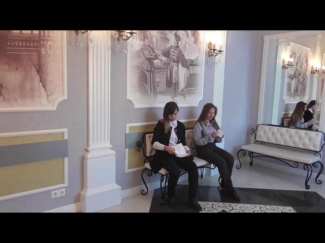 Изображение предпросмотра прочтения – «Ярослава и Алеся» читает произведение «Письмо к женщине» С.А.Есенина