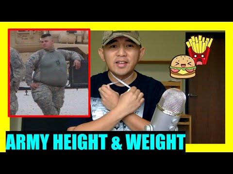 What To Expect In The ARMY: ARMY HEIGHT & WEIGHT STANDARDS (AR 600-9)