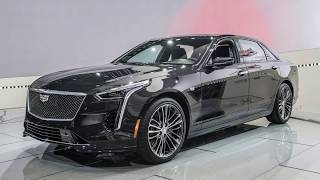 Cadillac CT6 V-Sport wants to take prisoners with 550-hp 4.2L TT V8