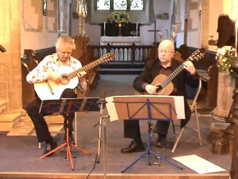 Raymond Burley and John Feeley play Sor - Op. 34