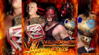 WWE: Kane Theme | Veil Of Fire (Rise Up Remix) - Low Pitch