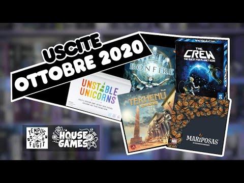 I Giochi da Tavolo in USCITA ad OTTOBRE 2020 | Tanti...TROPPI!
