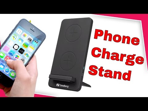 Sandberg Wireless Charger Stand 10W - Wirelessly Charge Your Phone