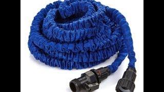 Cheap X-Hose alternative. The lightweight expandable 75ft garden hose test review