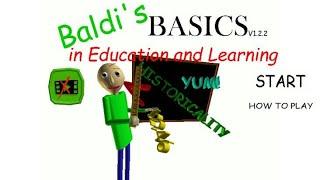 Jugando Baldi's Basic con musica relajante | [EDUARD FREE] (Baldi's basic in Education and Learning)