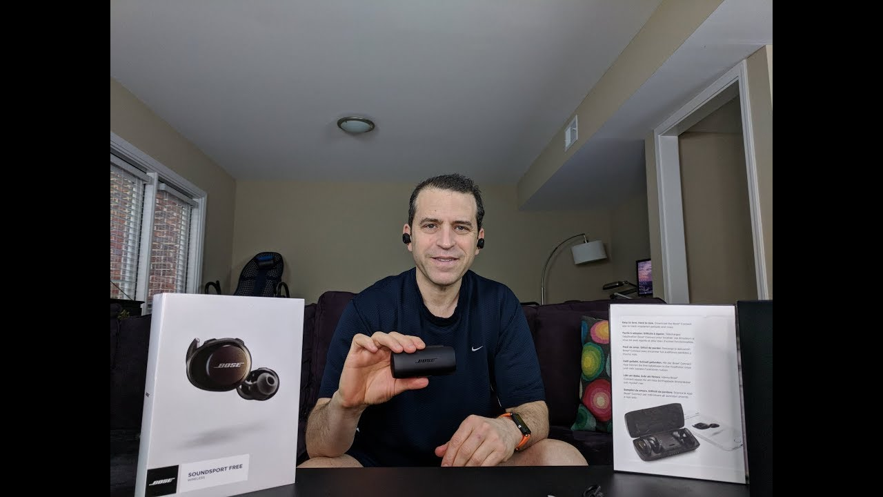 28688005256 Bose SoundSport Free Wireless Headphones Review And Demo - YouTube