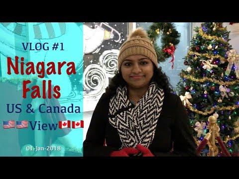 Niagara Water Falls Malayalam Travel Vlog | View from US and Canada | Preethi's Malayalam Vlog #1