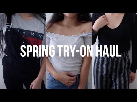 Spring Try-On Haul | Brandy, FashionNova,...
