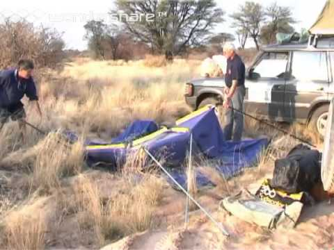 Expedition to Search for the Lost City of the Kalahari