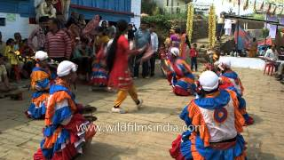 Choliya dance performed at Kumaoni wedding