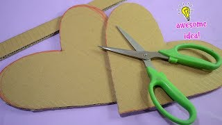 awesome way to recycle/reuse cardboards|best reuse idea