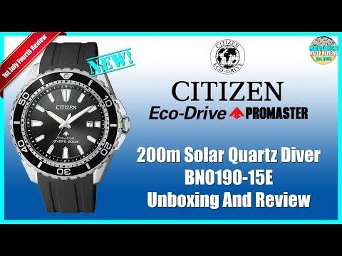 New Classic? | Citizen Promaster 200m Solar Quartz Diver BN0190-15E & BN0191-55L Unboxing And Review