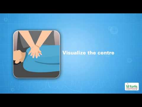 Cardio Pulmonary Resuscitation (CPR) Animation video, Cardiac Emergency, Fortis