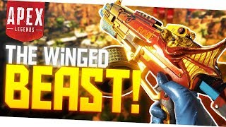 THE WINGED BEAST! (Outrageous Shotgun) - PS4 Pro Apex Legends Gameplay!