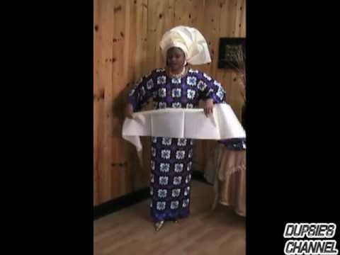 How to Tie a Wrapper, Lapa, Iro, Wrap Skirt