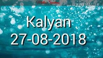 Kalyan 27-08-2018 logical game with panna trick.