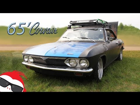 1965 Chevrolet Corvair - NA To Turbo Conversion : Amazing Sound, Startup, Review