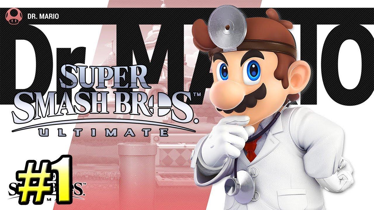 Super Smash Bros Ultimate {Switch} прохождение часть 1 — Мир Света