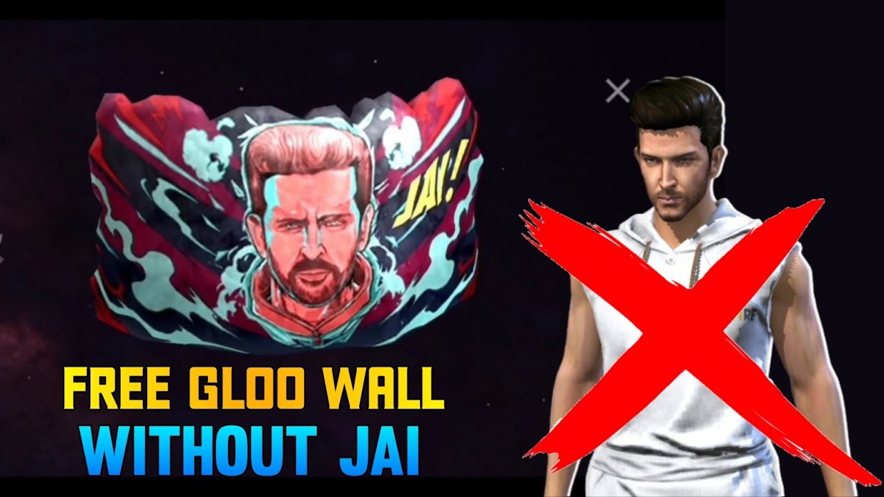 HOW TO GET JAI GLOO WALL WITHOUT JAI CHARACTER | HOW TO COLLECT TOKEN IN JAI EVENT | FREE GLOO WALL