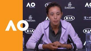 Qiang Wang press conference (4R) | Australian Open 2020