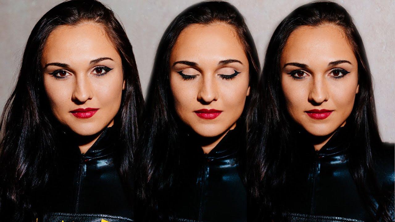 Batgirl Cosplay Makeup Tutorial Youtube