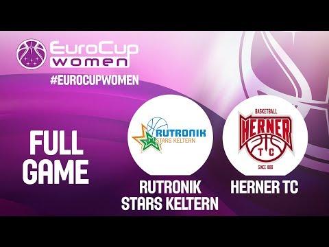 Rutronik Stars Keltern V Herner TC - Full Game - EuroCup Women 2019-20