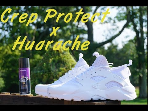 Crep Protect x Nike Huarache Review | Does it Work?