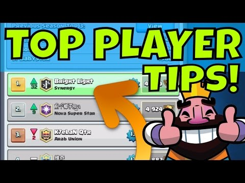 Clash Royale | NUMBER 1 PLAYER TIPS & DECKS [BRIGHT LIGHT]