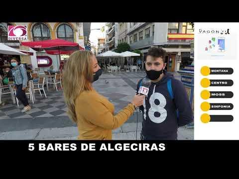 Los algecireños eligen a sus cinco bares favoritos