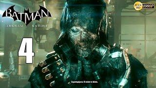 Batman Arkham Knight Parte 4 Gameplay Español | El Plan del Espantapajaros PC 1080p