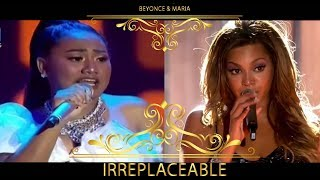 Download Irreplaceable - Queen Beyonce Feat. Princess Maria Indonesian Idol  (Live) MP3 song and Music Video