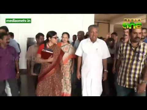 Security intensified for CM Pinarayi Vijayan