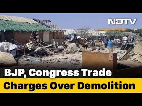 After Demolition, Bengaluru Slum Dwellers Try To Cope