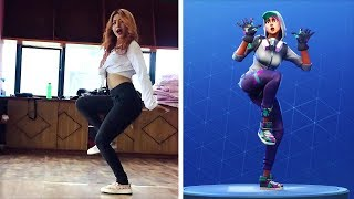 FORTNITE DANCES IN REAL LIFE! (ZANY, BEST MATES & BOOGIE DOWN)