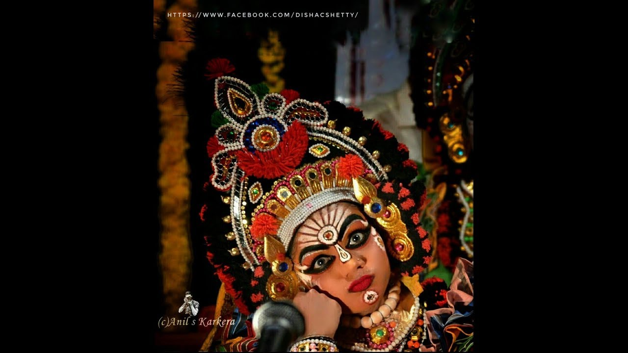 Amazing Art Of Yaksha Disha A Yakshagana Talent