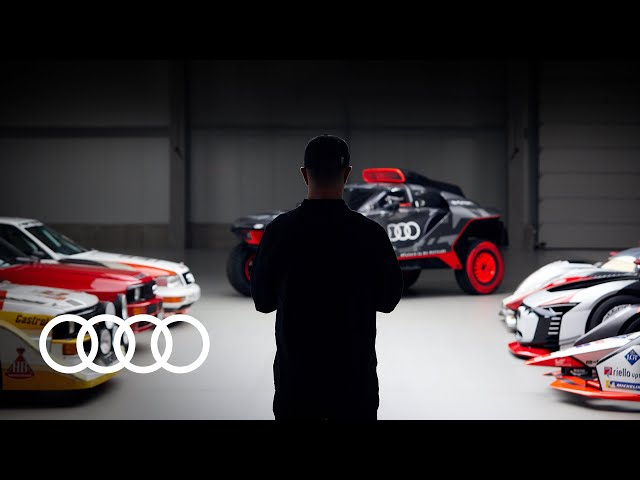 Welcoming a legend to the Audi team