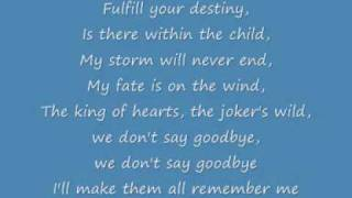 Celine Dion Immortality Lyrics