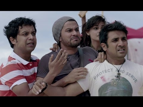 Bollywood Stars Surrounded By Zombies | Go Goa Gone